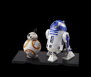 Bandai-1-12-STAR-WARS-BB-8-amp-R2-D2-The-Force-Awakens-Droid-Robot-Model-Kit