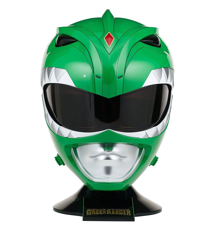 Mighty Morphin Power Rangers ~ verde RANGER PROP REPLICA / WEARABLE HELMET