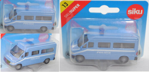 Siku Super 0804 00500 Mercedes-Benz Sprinter furgoneta carabini//polizia