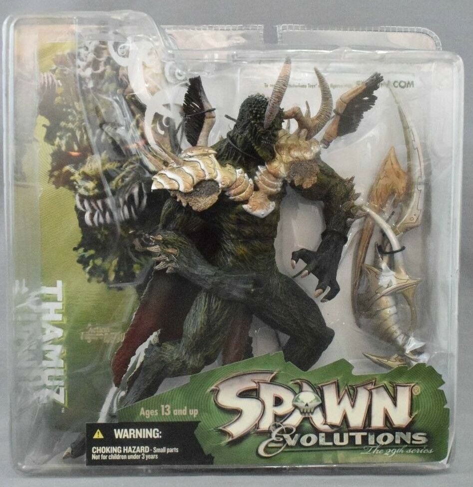 FIGURE McFARLANE SPAWN EVOLUTIONS-THAMUZ  horror devil devil devil demon diablo demone satan ad2bca