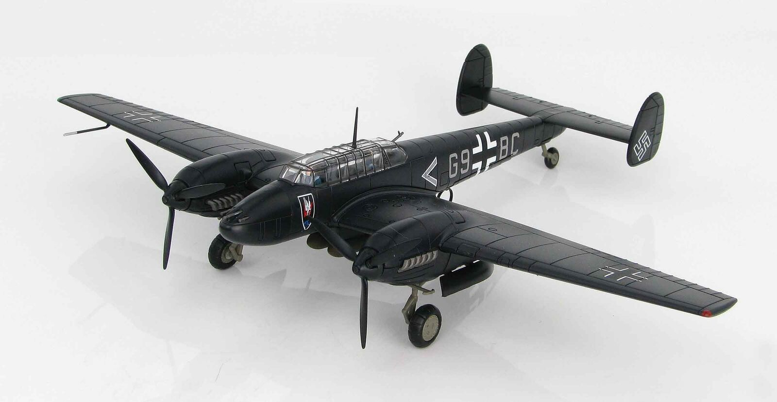 Hobby Master 1814 Bf110E-2 Oblt uellenbeck II/NJG1 2018 1/72 escala Diecast Modelo