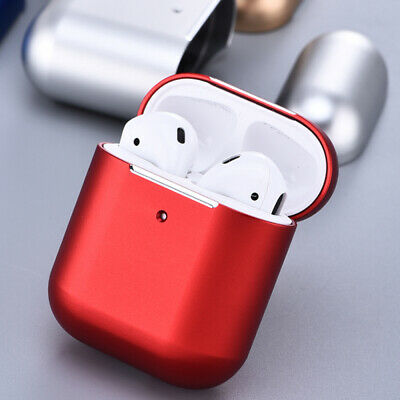For Airpods 1st Gen Waterproof Metal Aluminum Wireless Charging