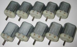 10 X Mabuchi FC-280 Door Lock Actuator Repair Motor - 12 V  10310 RPM - 6 to 16V