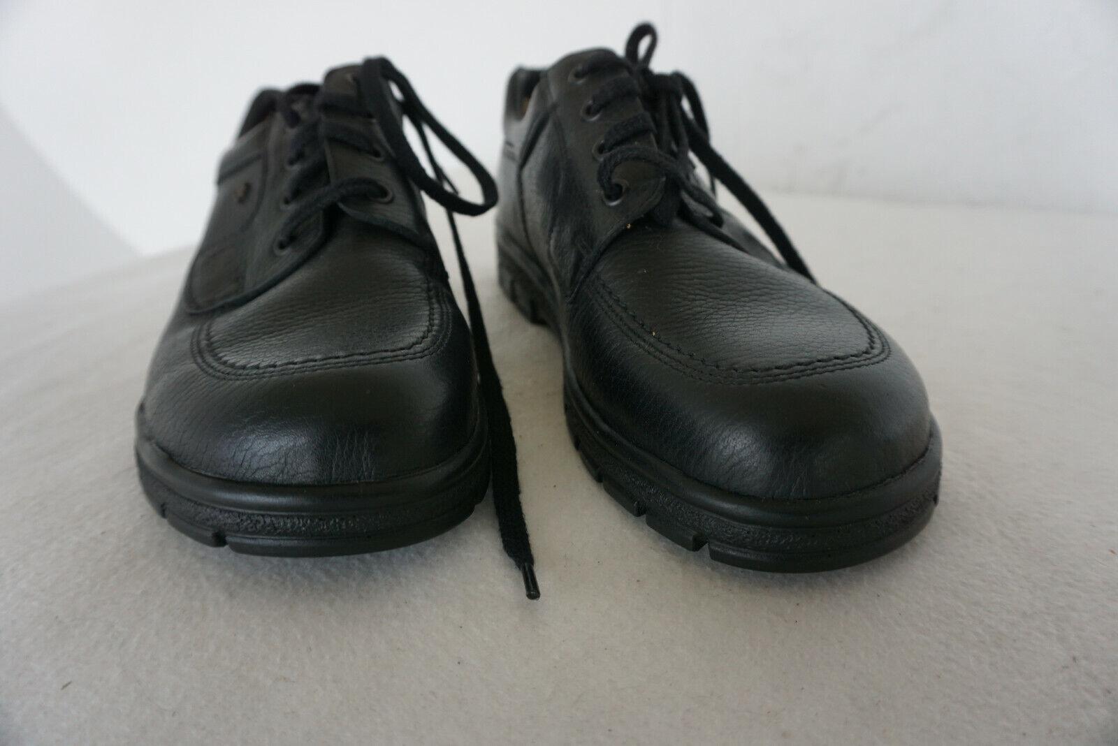 FINN COMFORT Brest Messieurs Men chaussures Chaussure Lacée Taille 7 40,5 noir Cuir Neuf