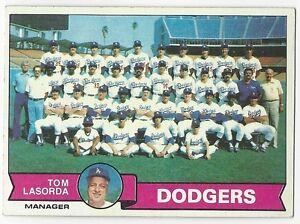 Details About 1979 Topps Baseball 526 Dodgers Team Checklist Excellent