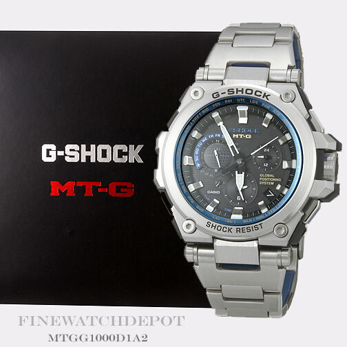 Authentic Casio G-Shock Men's Hybrid Solar MTG Series Watch MTG-G1000D-1A2