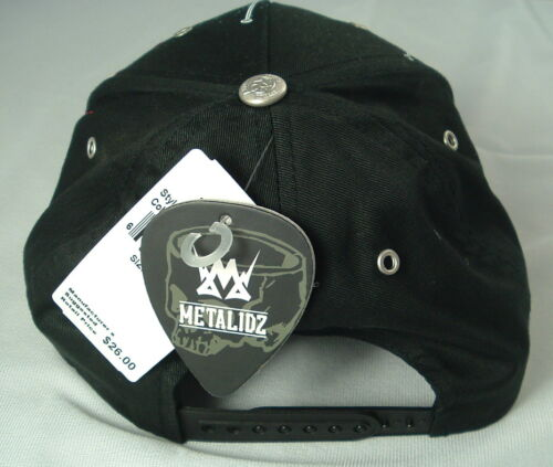100/% Cotton Metalidz Unisex 1 Size fits All Black Hat by Metalidz Gas Mask Baby