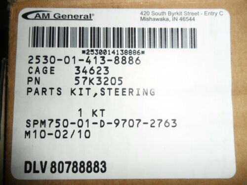 STEERING COLUMN KIT12338621-1   M998   57K3205 2530-01-413-8886 H1  12446802 M10