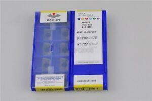 Zccct-APMT160408PDER-YBG202-Karbideinsaetze-Neue-10Pcs-Lot-nr