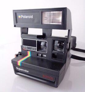 Original-classic-1990-039-s-Polaroid-Supercolor-635-CL-Sofortbildkamera-instant-cam