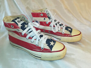 Details about Converse, USA Flag, Made in USA, size 3 12