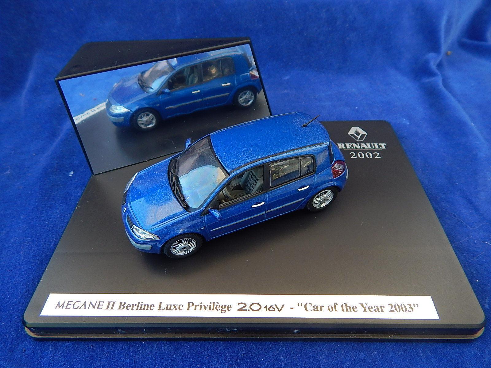 RENAULT - MEGANE II BERLINE LUXE PRIVILEGE 2.0 2.0 2.0 16V CAR OF THE YEAR 2003 c9f091