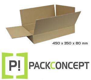 Faltkarton 1-wellig 300 x 215 x 80 mm; Karton; Pappkarton; Versandkarton #2