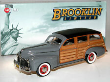 Brooklin Models BML 03, 1941 Pontiac Deluxe Custom Torpedo Station Wagon, 1/43