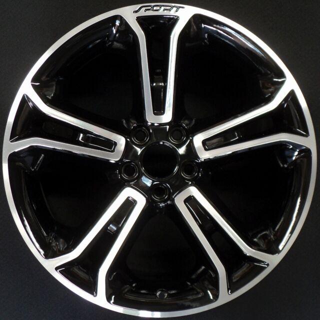 20 Ford Explorer Sport Black Chrome Wheels Rims Tires Factory Oem Set 4 3949