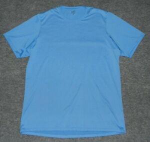 PATAGONIA MEN'S CAPILENE 1 S/S SHIRT Performance Base Layer Ice Blue XXL Shirt