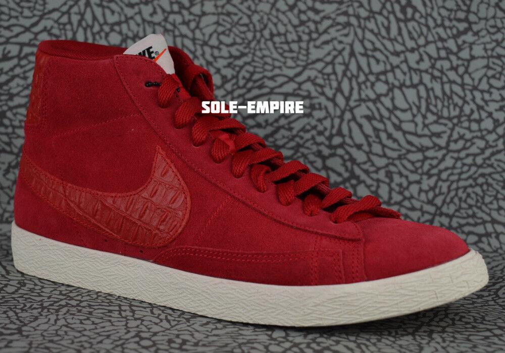 Nike Blazer Mid Premium VNTG 638261-601 Gym Red Sail Retro Vintage NEW NO BOX DS
