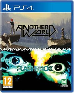 Another-World-amp-Flashback-Double-Pack-For-PS4-New-amp-Sealed