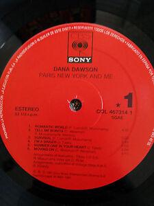 DANA-DAWSON-PARIS-NEW-YORK-AND-ME-LP-VINYL-VINILO-12-034-VG-1991-CBS-SONY