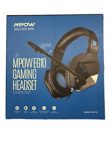 MPOW EG10 Gaming Headset for PC PS4 XBoX One In Line Volume & Mic Control