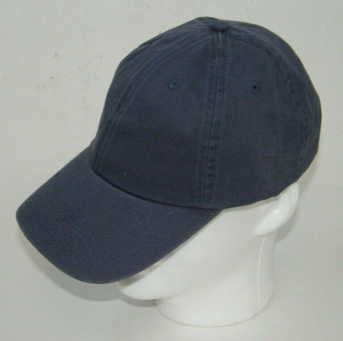 (7) FAHRENHEIT HEADWEAR 508 CAPS / HATS GARMENT WASHED BLUE BUCKLE BACK