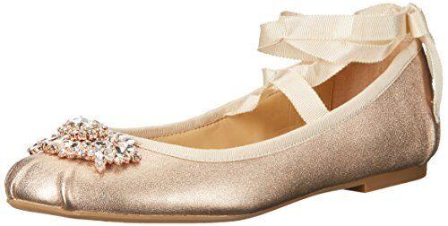 Badgley Mischka Femme karter II Ballet Flat-Choisir Taille couleur.