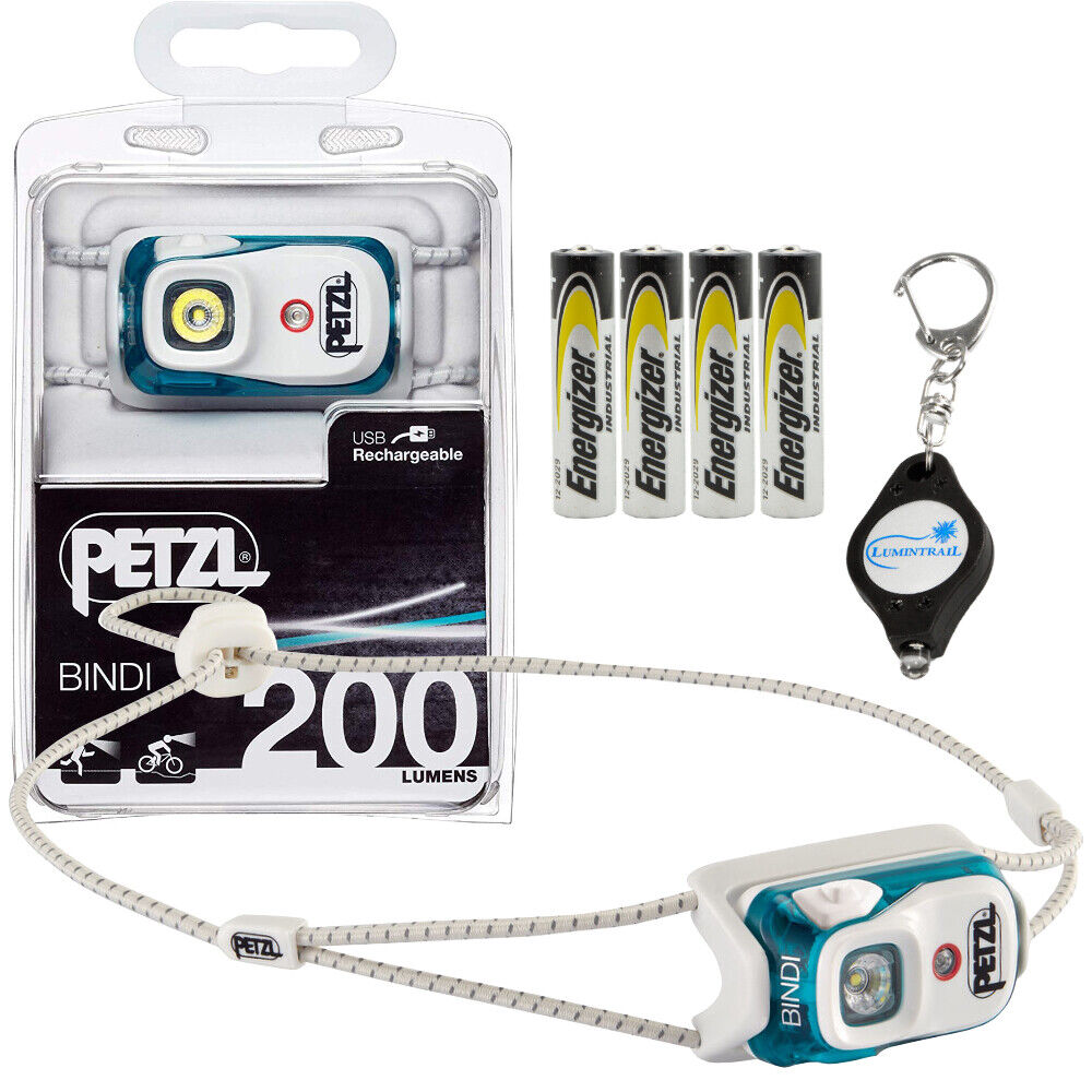 PETZL Bindi 200 Lumens  USB Rechargeable Headlamp with 4 AAA's & Keychain Light  we offer various famous brand