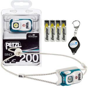 Petzl Bindi Active Headlamp 200 Lumens Orange USB Rechargeable Brand New!!