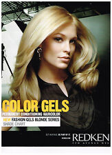 Redken Fashion Gels Permanent Conditioning Hair Color Shade Chart NEW