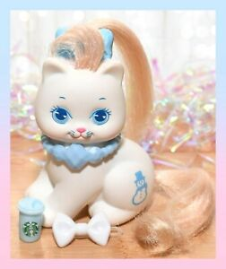 ❤️Vtg Mattel Little Pretty KITTY My Little Pony FROSTA Glitter 'N Grow Snowman❤️