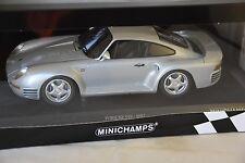Minichamps 155066201 - PORSCHE 959 - 1987 SILVER 1/18
