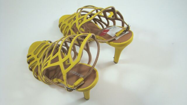Shoes Directt Caged Sandals Size