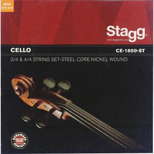 Stagg-Cello-Strings-Set
