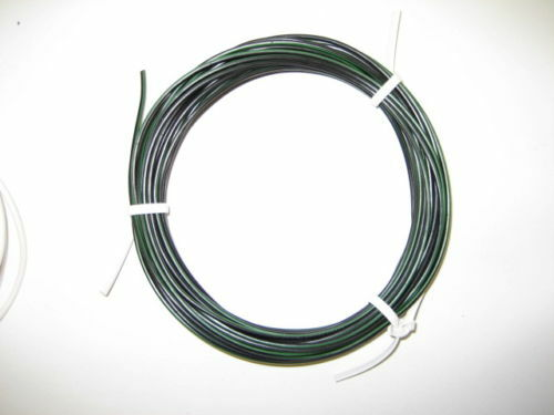 KFZ Kabel Fahrzeugleitung FLRy 0,75mm² 10m schwarz grün