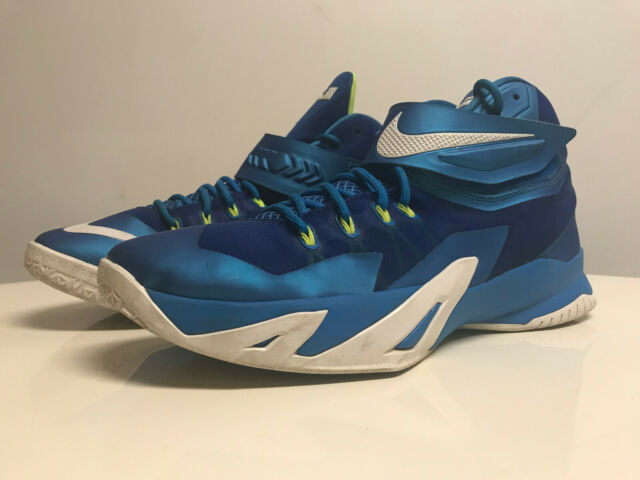 official photos 90f1d 3865d Nike Zoom Soldier VIII 8 Lebron Mens Basketball Shoes Blue 653641-417 11