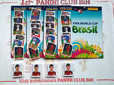 PANINI Coca Cola BRAZIL 2014 Empty album + 50 different + 6 A-F Bonus Stickers!