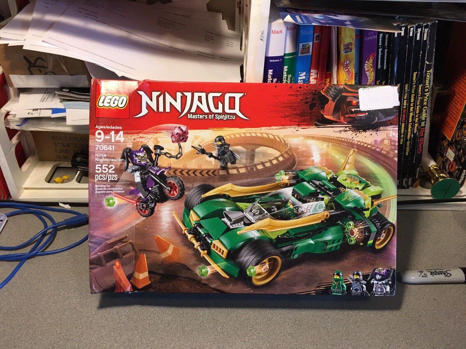 LEGO NINJAGO  Ninja Nightcrawler 70641 costruzione Kit (552 Piece)  il prezzo più basso