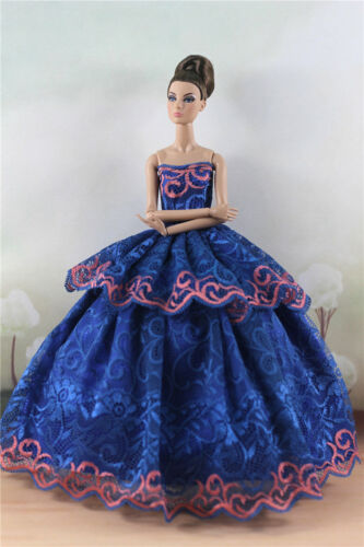 Fashion Princess Party Dress//Evening Clothes//Gown For 11.5 inch Doll a17