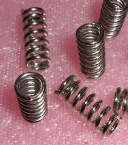 Stahlfeder /  Spiralfeder Druckfeder aus Stahl 20mm 5mm 1,3mm ... 8 - Stück