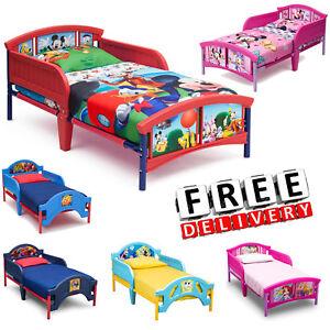 Toddler Bed Kid Frame Child Bedroom Furniture Boy Girl Princess Disney Car New Ebay