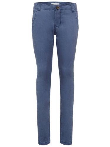 Name it Jungen Chinohose Slim Fit Kinder Hose Dress Blue Größe 92 bis 134