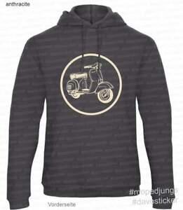 Kapuzen-Sweater-Hoodie-034-Vespa-034-Mopedjungs-Spront-GT-GranTourismo-Piaggio-Italia