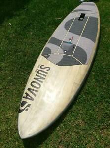 Sunova-Flow-Standup-paddle-board-and-foil-board-slingshot-carbon-foil