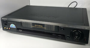 Sony-SLV-779HF-Hi-Fi-Stereo-4-Head-VHS-VCR-Recorder-No-remote-Works-Well