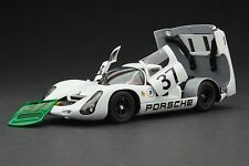 Exoto 1967 Porsche 910 / 2nd in Class & 4th Overall / Sebring / 1:18 / #MTB00062