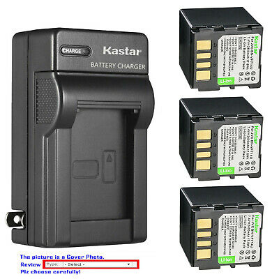 New BN-VF714UE USB Camera Battery Charger For Jvc GR-D375U D375US D390 D390EK D390U D340EK D340EX D345 D345E D350 GZ-MG26U MG27 MG27AH-U MG27E MG27EK MG505-S MG505AA MG505AC MG505AG MG505AH Cameras