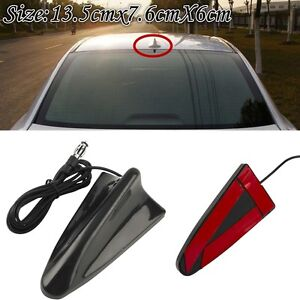 Universal Auto Car Roof Radio AM//FM Signal Amplified Shark Fin Aerial Antenna