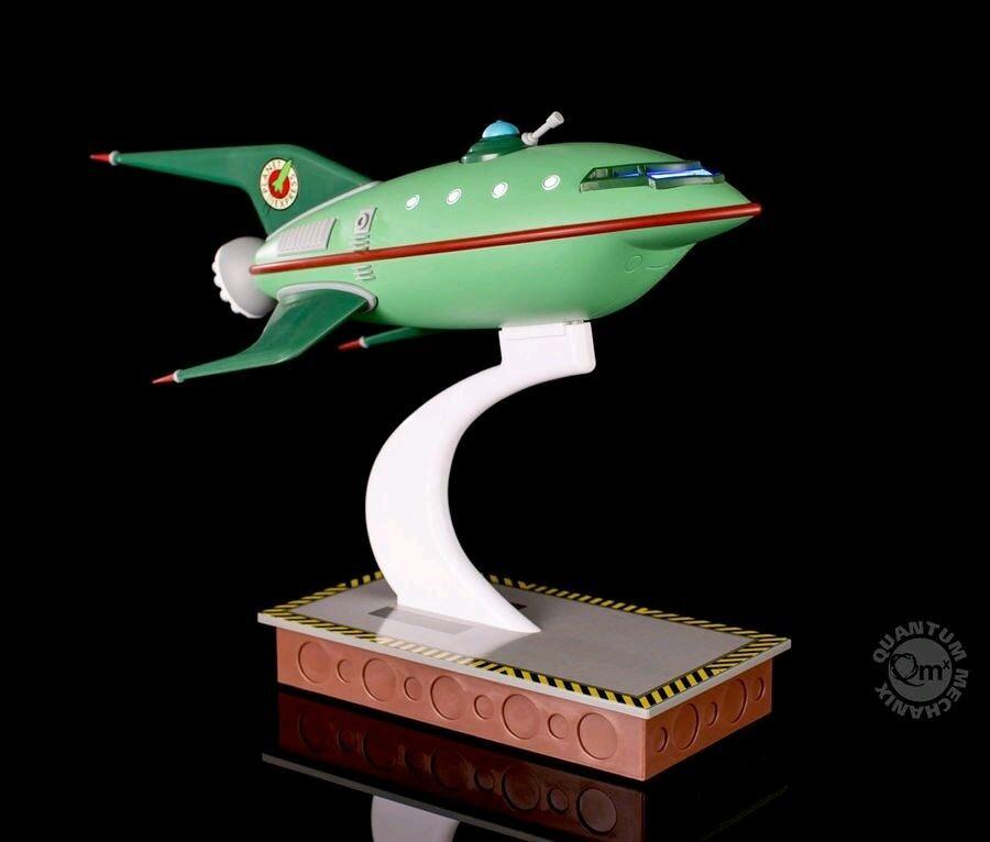 Otras estatuas -- Futurama-Planet Express Envío
