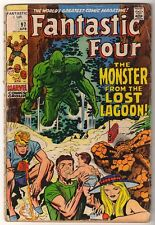 Marvel Comics VG-  FANTASTIC FOUR #97  Monster from lost lagoon