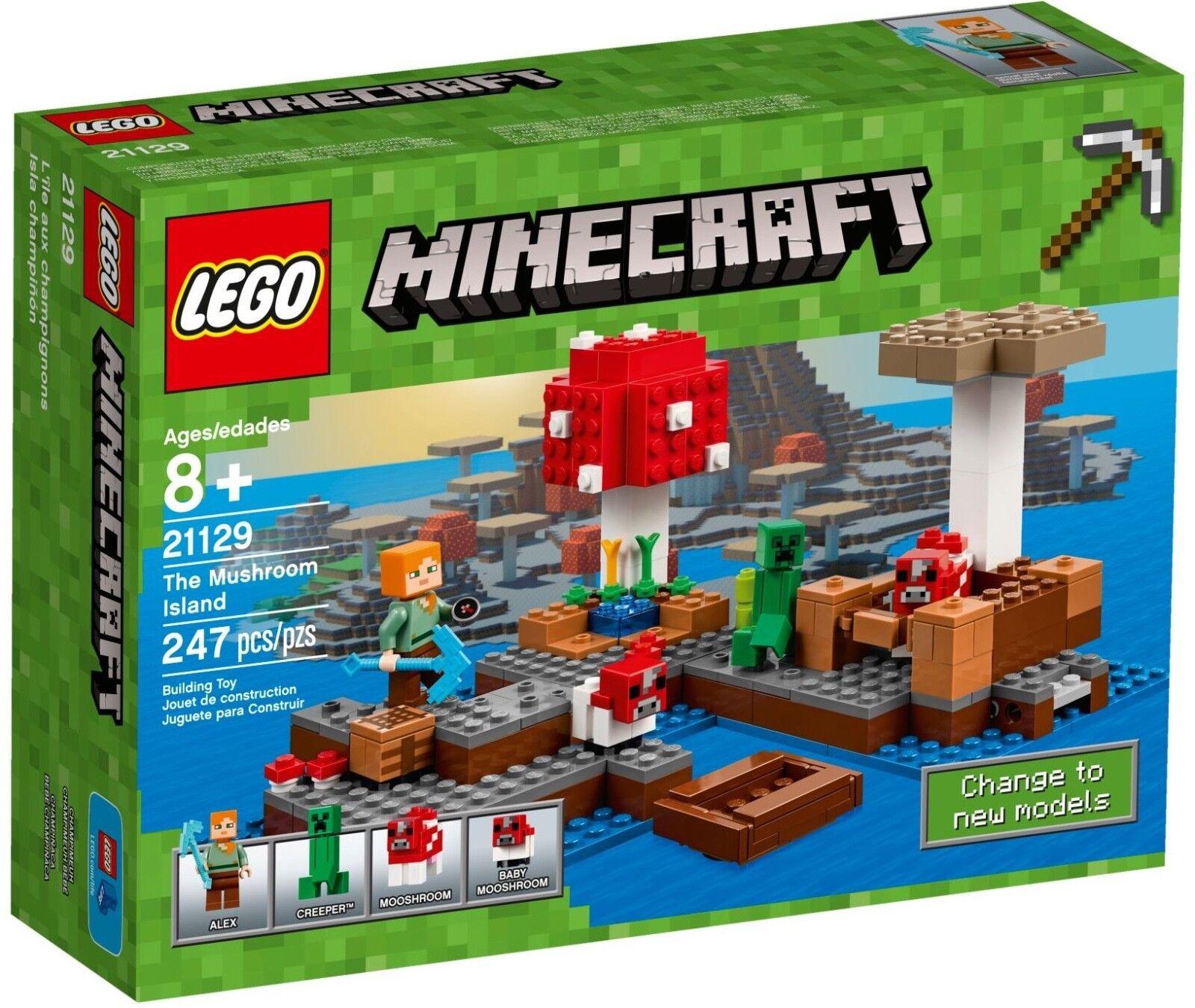 LEGO Minecraft - The Mushroom Island (21129)